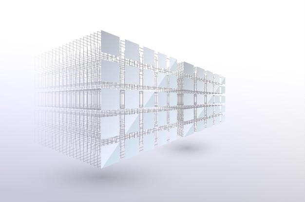 ブロックチェーンの概念。ビッグデータ。データの並べ替え。混沌からシステムへ。人工知能。機械学習アルゴリズム。スマートシステム。データの保存と分析。