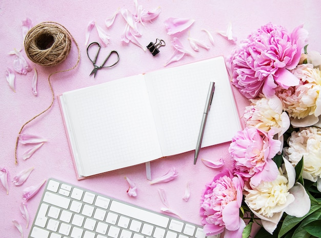 블로거 및 프리랜서 작업 공간