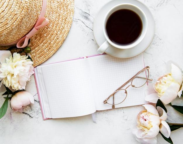 Blogger or freelance workspace