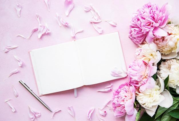Blogger and freelancer workspace