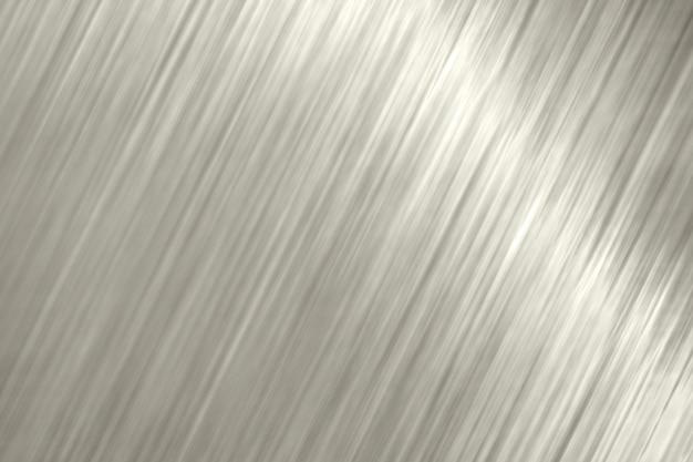 Blond metallic slanted lines textured