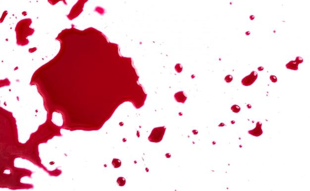 피가 튀다