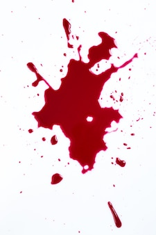 Blood splash