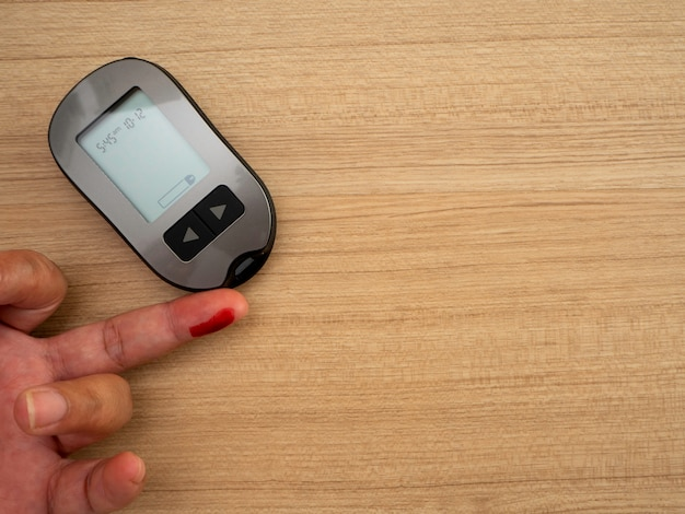 Blood sugar monitor, diabetes, health check