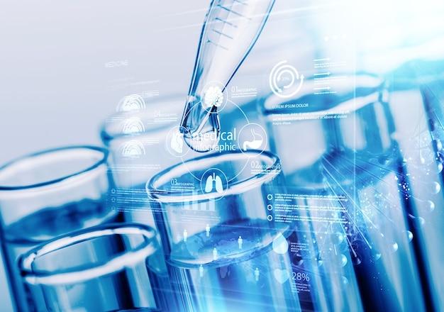 혈액 검사 실험실 분석 미생물학 연구 액체