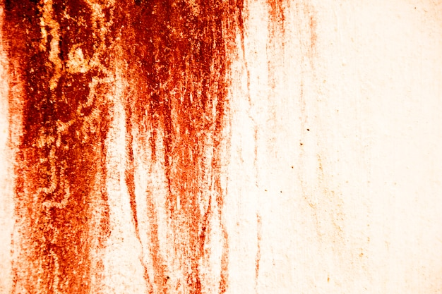 Blood texture background. texture of  concrete wall with bloody red stains. halloween.