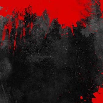 ハロウィーンに最適な血まみれのグランジ背景
