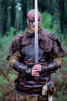 血まみれの本物のバイキング