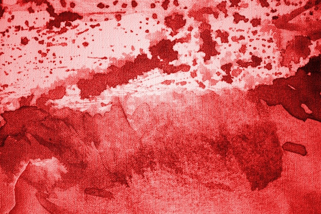 Bloody red abstract watercolor background