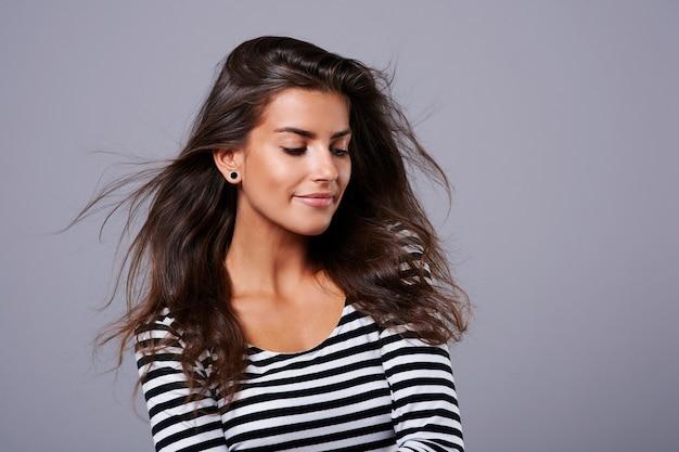 Blow in my hair make me more natural