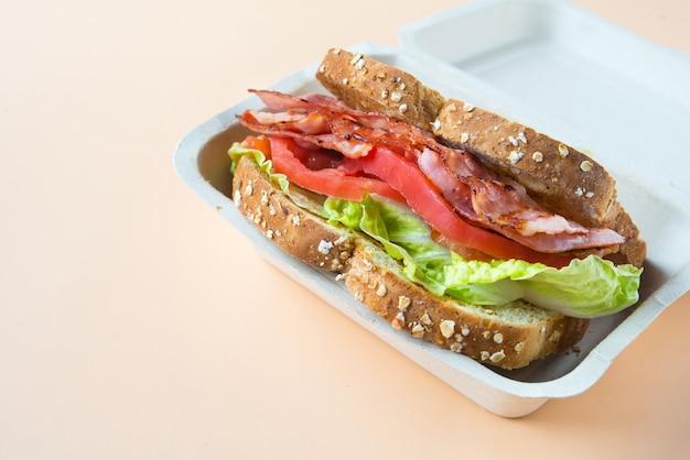 A blt is a type of sandwich