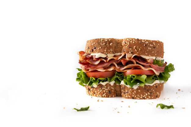 Blt sandwich isolated