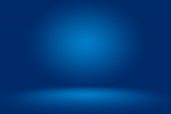 Blue abstract background. Smooth Dark blue with Black vignette Studio