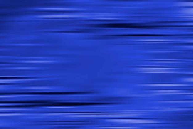 水平方向のモーションブラーラインと青の抽象的な背景。テクスチャード加工の背景