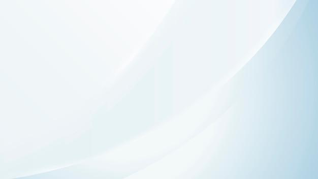 青い抽象的なグラデーション波の壁紙