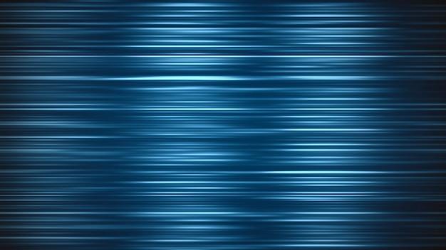 80年代スタイル、レトロな背景のノイズと青い抽象的なモーションライン。エレガントで豪華なダイナミックゲームの3dイラストスタイル