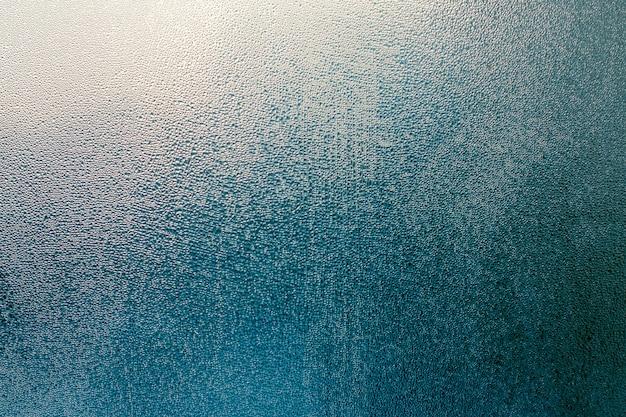 Синий абстрактный фон капли воды