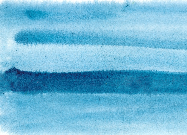 Blue abstract watercolor background.