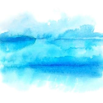 青い抽象的な水彩画の背景