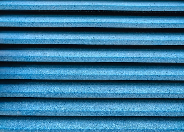 Синий в возрасте металлический сайдинг стены текстуры фона