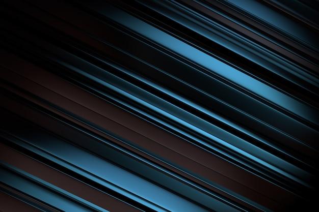 Синий и черный 3d дизайн фона