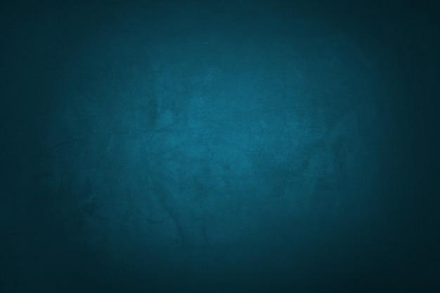 파란색과 어두운 그라데이션 텍스처와 벽 배경