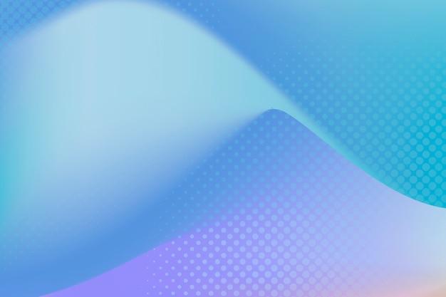파란색과 분홍색 하프톤 배경
