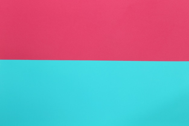 青とピンクの段ボールアートペーパー。