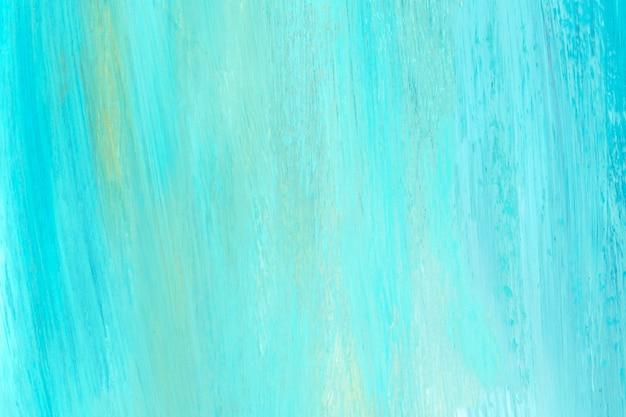 파란색과 청록색 브러시 스트로크 질감 배경