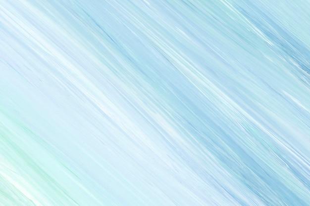 파란색과 흰색 아크릴 페인팅 질감