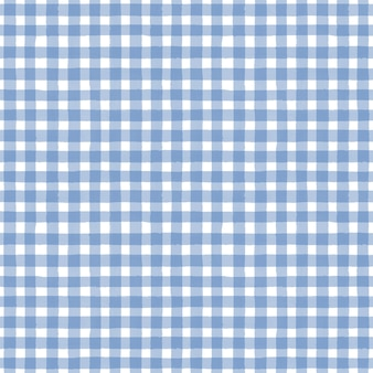 Синий и белый гранж клетчатый тартан плед абстрактный геометрический бесшовный фон фон