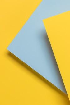 Синий и желтый шкаф
