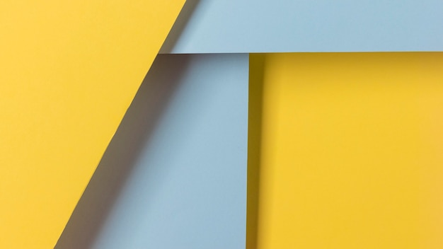 Синие и желтые шкафы