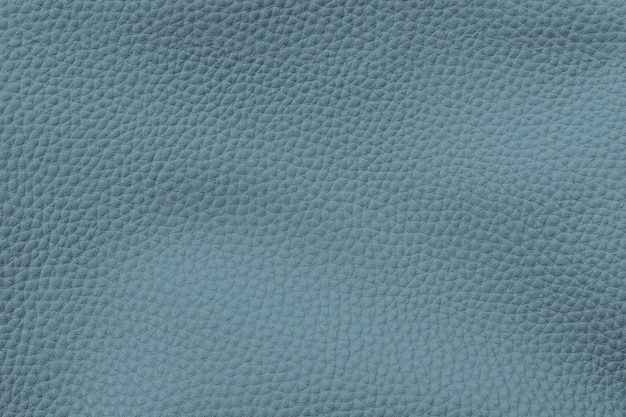 Blue artificial leather textured background