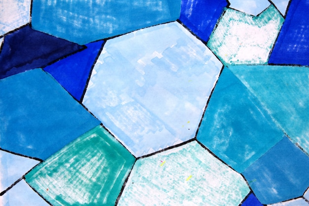 Blue background abstract marker texture