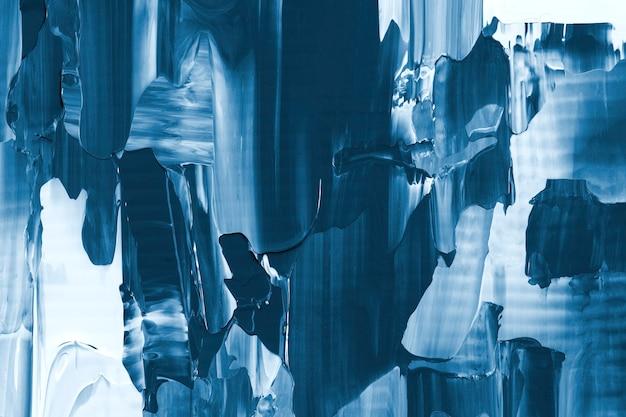 Carta da parati astratta di struttura della pittura del fondo blu
