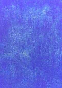 青色の背景。暗い青ヴィンテージグランジ