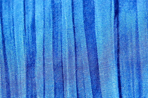 Blue background of fabric