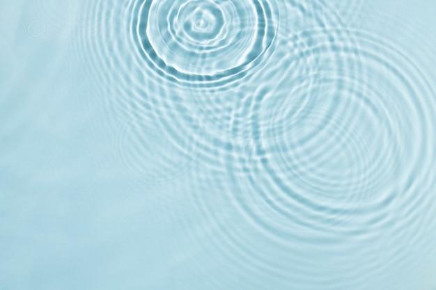 Sfondo blu, trama dell'increspatura dell'acqua