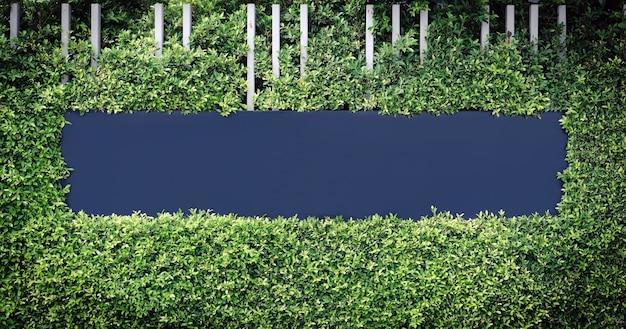 녹색 잎으로 둘러싸인 텍스트 또는 이미지 로고의 파란색 빈 레이블입니다.
