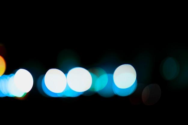 푸른 흐릿한 조명 배경