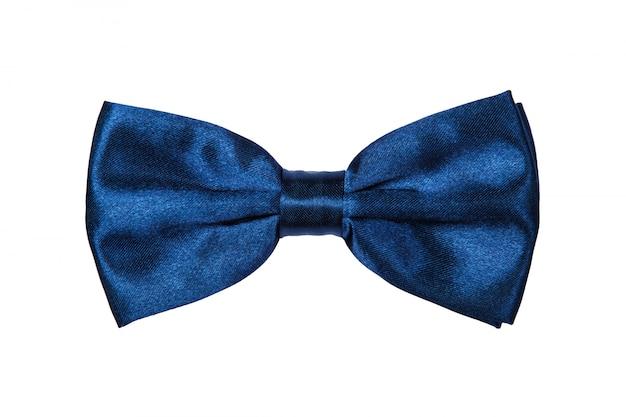 Blue bow-tie