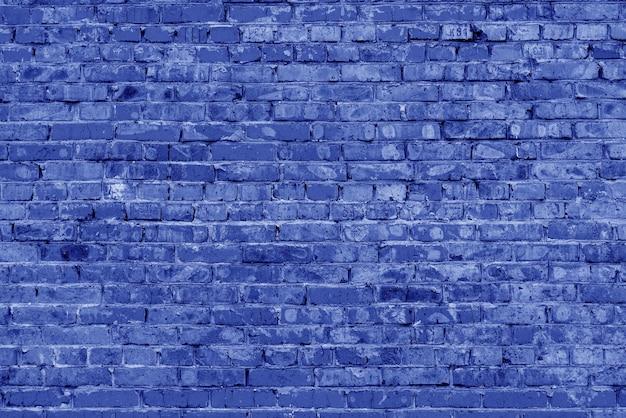 青レンガの建物の壁。モダンなロフトのインテリア。デザインの背景