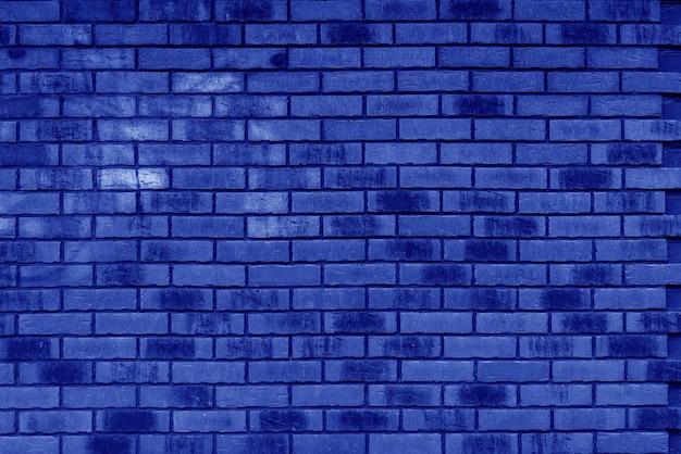 青レンガの壁のテクスチャの壁紙