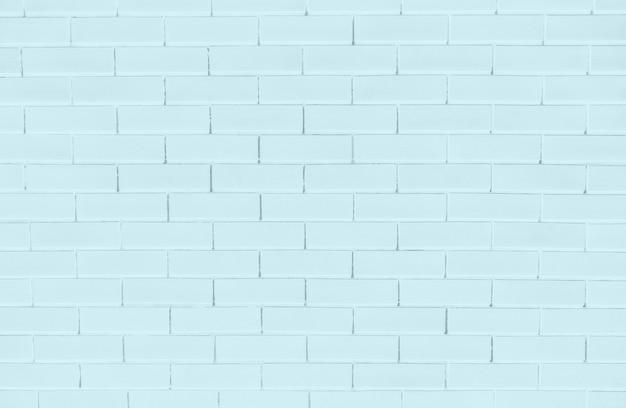 Blue brick wall textured background