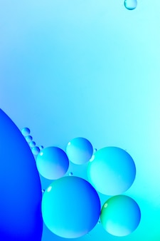 Bolle luminose blu