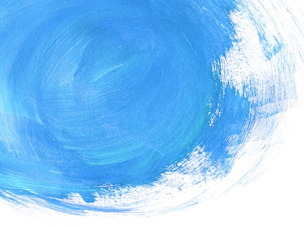 Blue brushstrokes abstract background