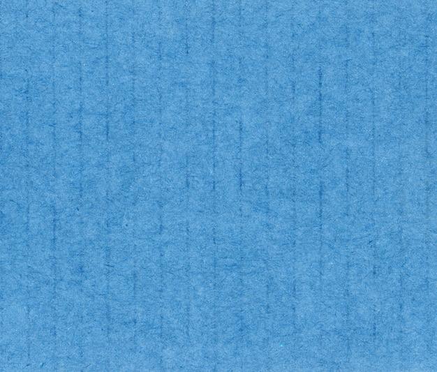 블루 골 판지 질감 배경