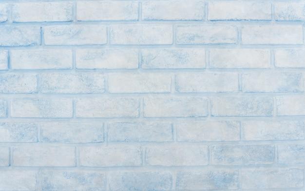 Blue cement brick backdrop background