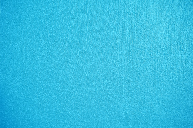 Blue cement or concrete wall texture background